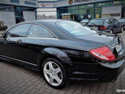 używany Mercedes CL500 Jasna tapicerka faktura 23% SUPER STAN