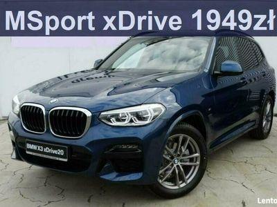 używany BMW X3 xDrive20d 2,0 M Sport Live Cockpit Plus Asystentparkowania Rata 1949zł G01 (2017-)