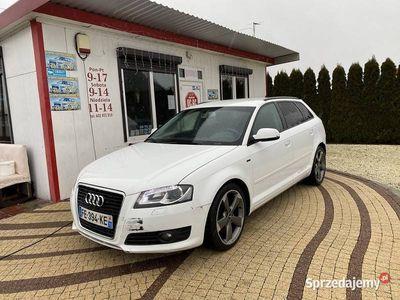 używany Audi A3 II (8P) 2.0tdi 170km niski przebieg! xenon! Sportback! Rotory!