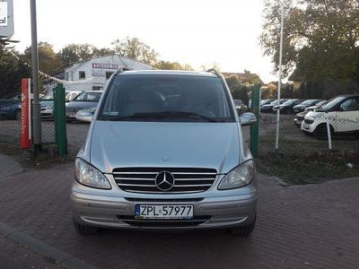 brugt Mercedes Viano 2.2dm3 150KM 2004r. 299 600km Automat,Bezwypadek,Klimatronik,Navi,Tempomat,Zarejestrowany!