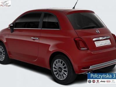 used Fiat 500 1.2dm3 69KM 2019r. 5km 1.2 Lounge 69KM AUTOMAT | Czerwony Corallo | Abonament od 655 PLN