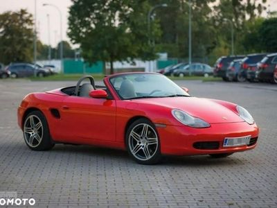 używany Porsche Boxster 986 2.5 benzyna 205km Automat Piękny Krwisty Kolor