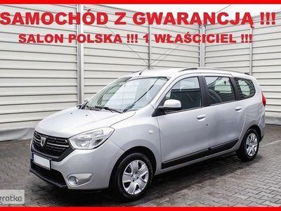 używany Dacia Lodgy 7 OSÓB + Salon PL + 1 Właściciel + GWARANCJA Fabryczna 2021r !!!, Leszno