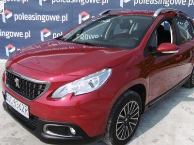 używany Peugeot 2008 1.2dm3 110KM 2016r. 24 624km ABS