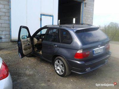 używany BMW X5 v8 4.4 gaz/zamienie