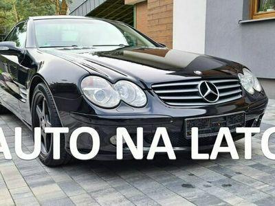 używany Mercedes SL350 3.7dm 245KM 2002r. 88 000km