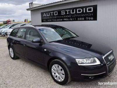 używany Audi A6 Beżowa-Skóra/Xenon/Kolorowa-Navi/Śliczny-Stan! C6 (2004-2011)