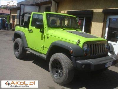 used Jeep Wrangler 2.8dm 200KM 2012r. 75 000km
