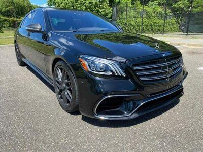 używany Mercedes S63 AMG AMG 4dm 612KM 2018r. 4 400km