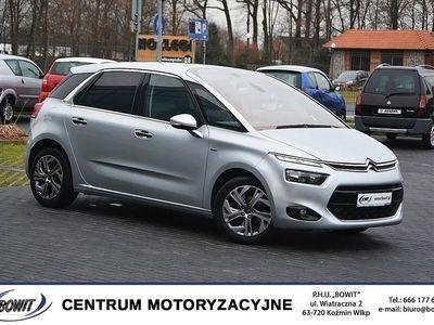 używany Citroën C4 Picasso II 2014r Exclusive - Kamera Nawigacja, Klimatyzacja AC, Kożmin Wlkp