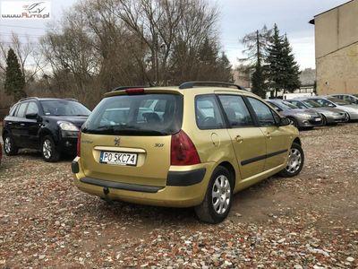 używany Peugeot 202 307 1.6dm3 110KM 2003r.000km Kombi 1.6 benzyna 110km Sprawny Klimatronic Możl Zamiana i Gwarancja