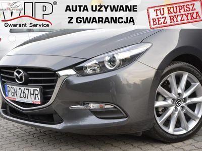używany Mazda 3 2dm3 120KM 2017r. 16 000km 2.0 Benzyna Automat Skóra 16 tys km Faktura VAT 23%
