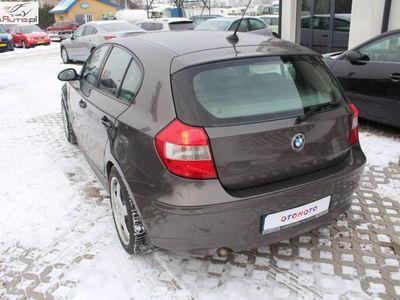 używany BMW 118 seria 1 2dm3 122KM 2005r. 198 000km D 2005r Szyberdach Skóra Gwarancja