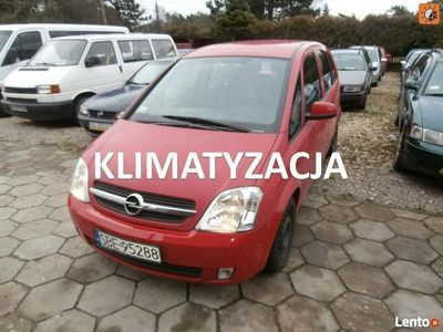używany Opel Meriva 1.4dm 90KM 2005r. 157 000km