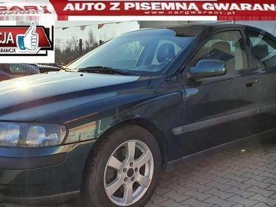 używany Volvo S60 I 2.3 250 KM alu clima półskóry zarejestr. gwarancja, Płońsk