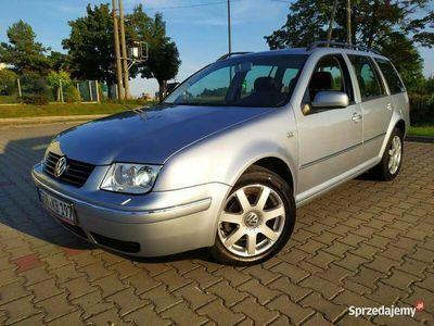 używany VW Bora 2003r kombi 2.0 benzyna BOGATE WYPOSAŻENIE