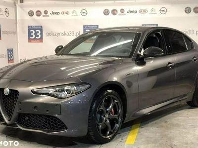 używany Alfa Romeo Giulia Veloce TI 2.0 280 KM | Szary VESUVIO | Wersja limitowana - QV LOOK