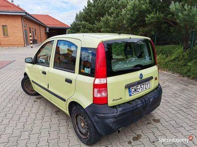 używany Fiat Panda II, 04r. LPG, do taniego przemieszczania