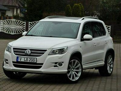 używany VW Tiguan 2,0 TDI 140KM 4x4 R-Line Xenon Navi Panorama PDC Serwis z DE !! I (2007-2016)