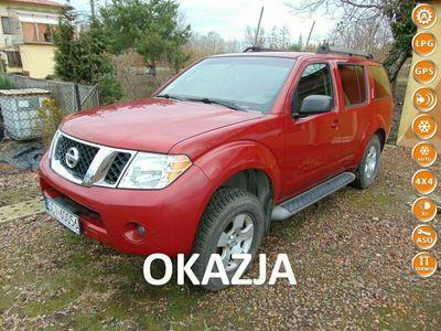 używany Nissan Pathfinder 4dm 269KM 2008r. 59 000km
