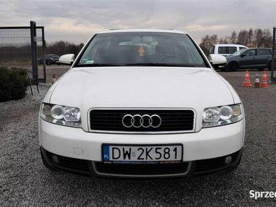 używany Audi A4 II (B6) 1.9 TDI 131KM 2001/02r. Climatronic, alufelgi, dodatkowe koła zimowe, Wrocław