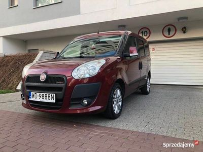 używany Fiat Doblò 1,6 105KM NAJBOGATSZA WERSJA