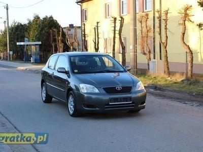 używany Toyota Corolla IX 2,0 D4D 110KM, CLIMATRONIC, ALU, GWARANCJA!!!