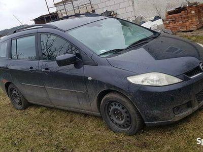 używany Mazda 5 2.0 CITD RF7J Po wypadku. Części lub całość