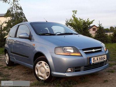 używany Chevrolet Kalos 1.4dm 94KM 2005r. 124 000km