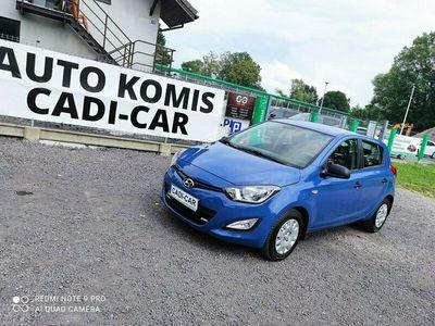 używany Hyundai i20 1.2dm 86KM 2014r. 131 000km