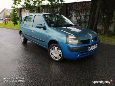 używany Renault Clio 1,2 benz 03r 5d do jazdy zadbana klima