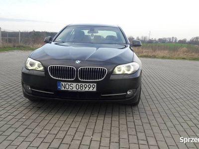 używany BMW 530 F10 D Brązowe Skóry Duża Nawigacja