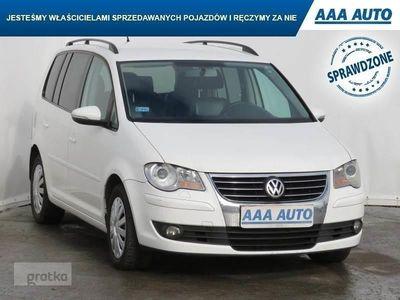 used VW Touran II DSG, 7 miejsc, Klimatronic, Tempomat, Parktronic,