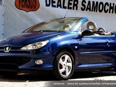 używany Peugeot 206 CC I 2.0i 136ps Manual, Cabrio, Białe skóry, Zadbany