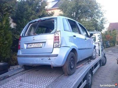 używany Fiat Idea 2004 1.4benzyna 90KM na części silnik,drzwi,srodek