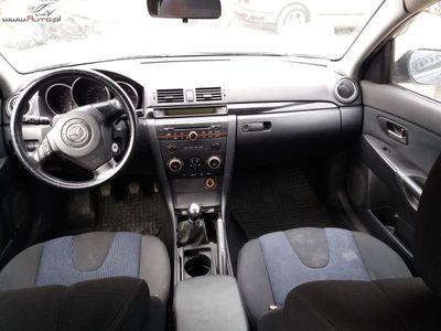 używany Mazda 3 1.6dm3 105KM 2004r. 164 000km 2004r 1,6 Benzyna Tanio Wawa