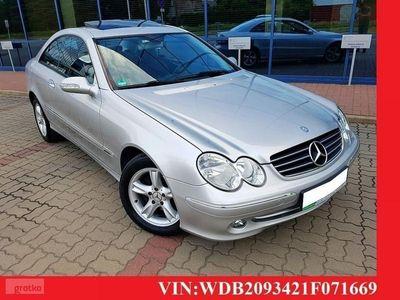 używany Mercedes CLK200 1.8dm 163KM 2003r. 240 000km