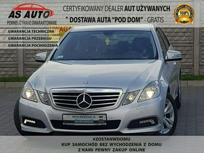 używany Mercedes E220 220CDI 170KM Avantgarde Skóry GwArAnCjA 3m-ce Serwis W212 (2009-)
