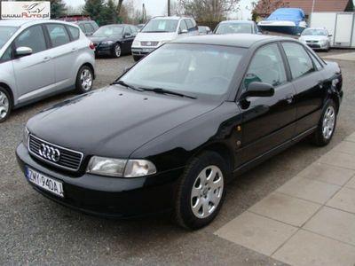brugt Audi A4 1.8dm3 125KM 1997r. 237 000km Zarejestrowany i ubezpieczony. Klimatronic, centralny zamek el. szyby.