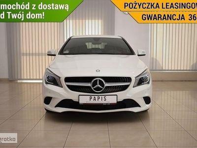 używany Mercedes CLA200 KlasaSalonPL Nawigacja Climatronic Podgrz. Fotele Xenon/LED PAPIS, Luboń