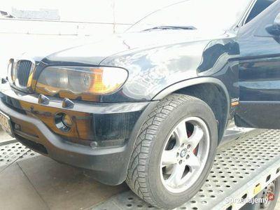 używany BMW X5 Uszkodzona skrzynia