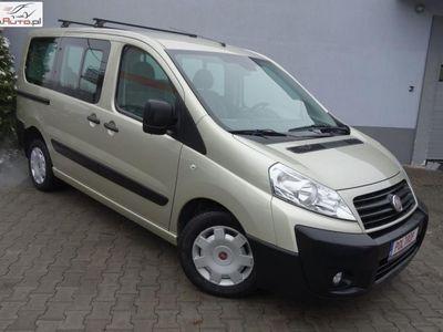 używany Fiat Scudo 1.6dm3 90KM 2007r. 165 000km 1,6D 8 Miejsc Klima Opłacony Rej. 2008 VIP Gwarancja