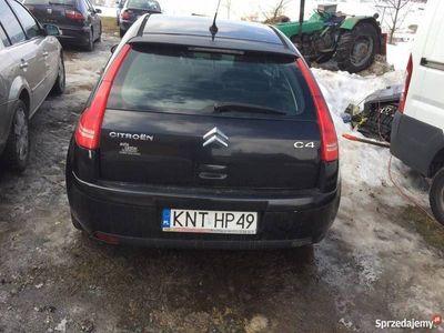 używany Citroën C4 diesel NAWIGACJA 06r 1.6 hdi JEDYNY !! NA CZESCI