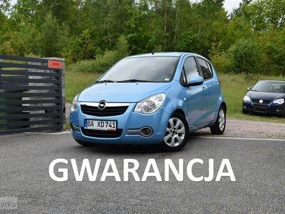 używany Opel Agila 1.2 Benzyna*Bardzo Bogate Wyposażenie*Gwarancja 12 msc*Kredyt/Leasingi B (2008-2014)
