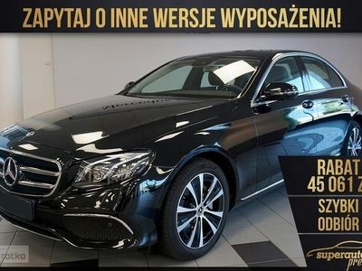 używany Mercedes 220 Klasa E W213 BUSINESS EDITION 2.04MATIC(194KM)|BUSINESS EDITION + Avantgard
