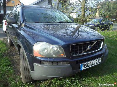 używany Volvo XC90 z 2004 r. 2,5turbo benzyna