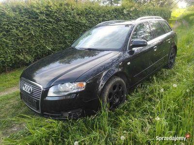 używany Audi A4 B7 Avant tdi 163 kM lz9y czarna S-line.