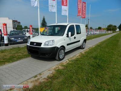 używany Fiat Doblò 1.9dm 105KM 2010r. 117 000km
