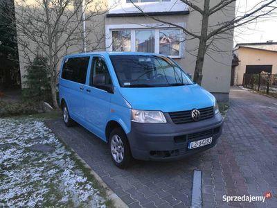 używany VW T5 1.9tdi 9osob,Klima,OC do 10.2020