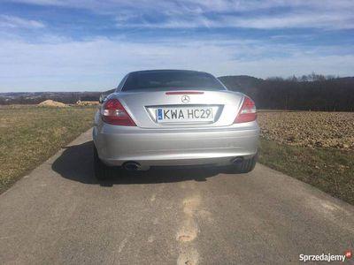 używany Mercedes SLK200 kompressor 1.8 163 km Kabriolet